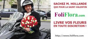 Livraison de fleurs en toute discrétion pour la Saint-Valentin
