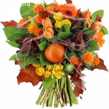 Bouquet of flowers - The Halloween bouquet