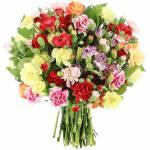 bouquet-oeillets