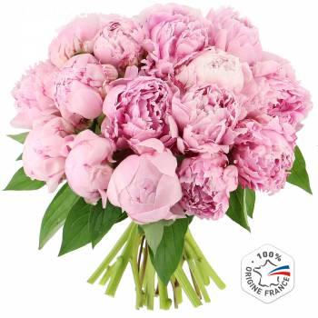 Bouquet de fleurs - Somptueuses Pivoines