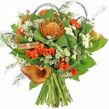 Livraison express : Le bouquet Rio