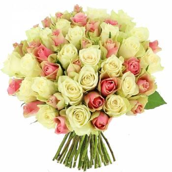 Bouquet de roses - Bouquet de roses Douceur