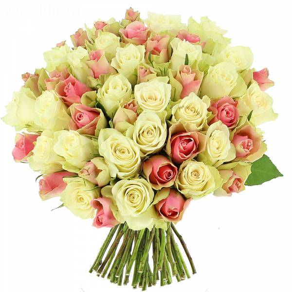 Bouquet de roses Douceur