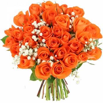 Bouquet de roses - Roses Sunlight