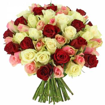 Bouquet de roses - Roses Tendresse