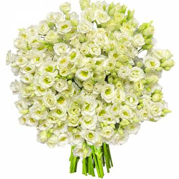 Bouquet of flowers - Lisianthus White