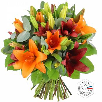 Bouquet of flowers - Multitude of lilies