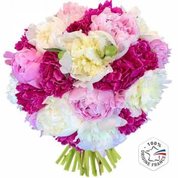 Bouquet de fleurs - Prodigieuses Pivoines