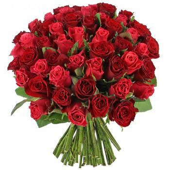 Bouquet de roses - Camaïeu de roses