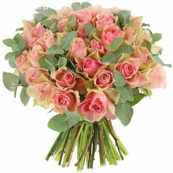 Bouquet de roses - Roses Désir