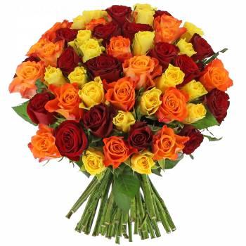 Bouquet de roses - Roses Estivales