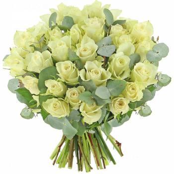 Bouquet de roses - Roses Perles