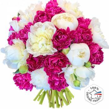 Bouquet de fleurs - Sublimes Pivoines