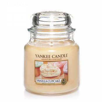Livraison en moins de 24h : Bougie Yankee Candle - Vanilla Cupcake - Petite Jarre (104g)